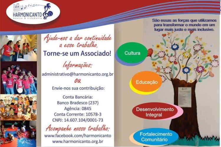 Harmonicanto participa de campanha do Grupo Bandeirantes